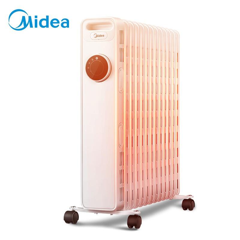 美的(Midea) 油汀取暖器 HYY22AK 白色